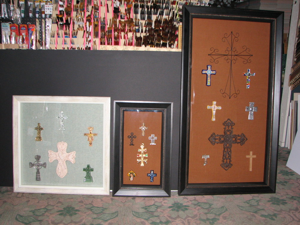 Cross collection from around world