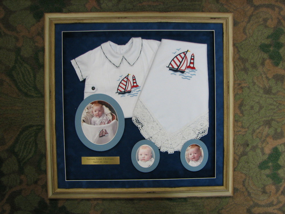 Baby Blanket Shadow Box
