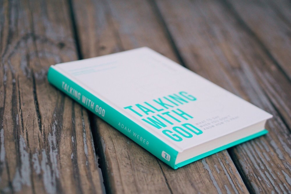 Talking With God by Adam Weber is available everywhere on March 21, 2017