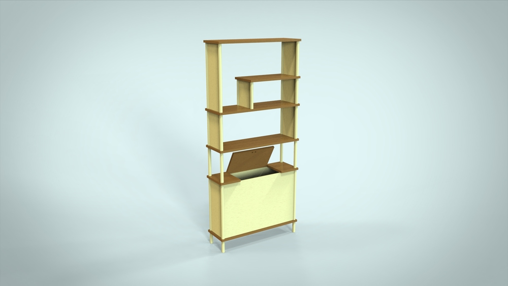 Konisa Studio - Union Bookshelf Design