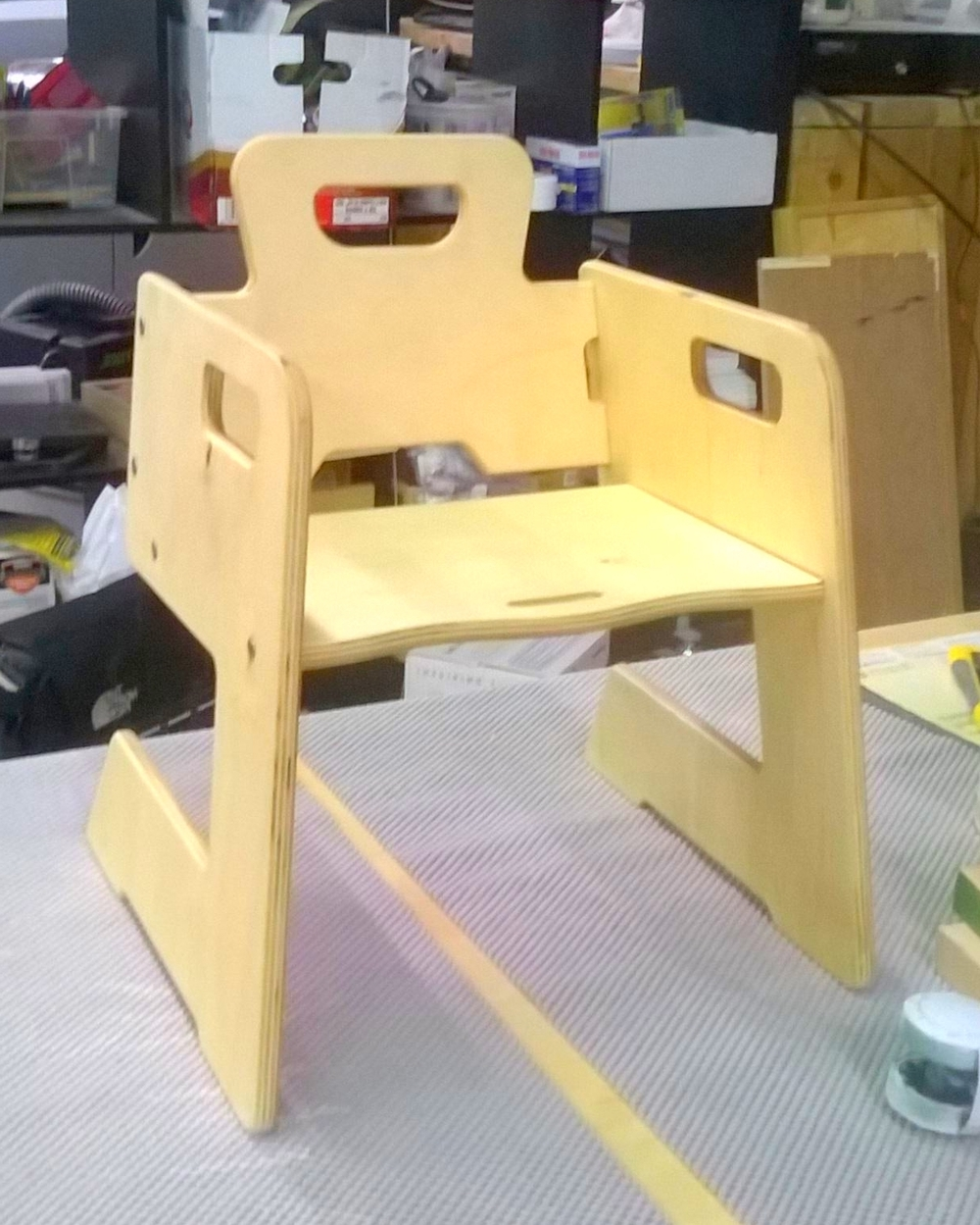 Konisa Studio - Larry Chair | Prototyping 2