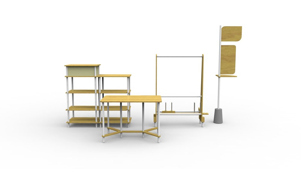 Konisa Studio - Mobila | Mobile Workspace Furniture