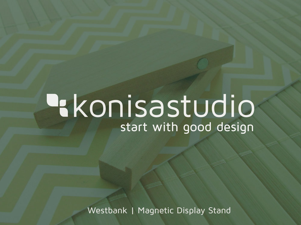 Westbank - Magnetic Display Stand