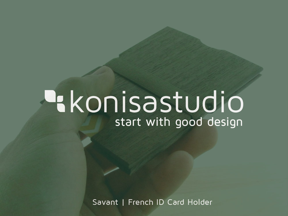 Savant | French ID Card Holder