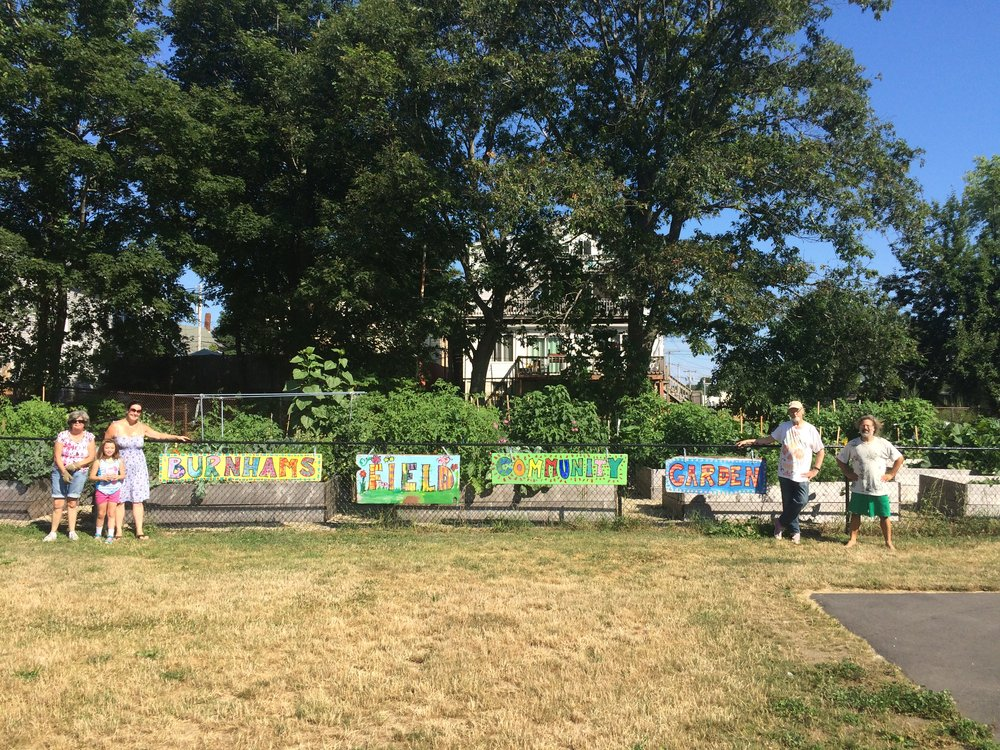 Burnham's Field Community Garden