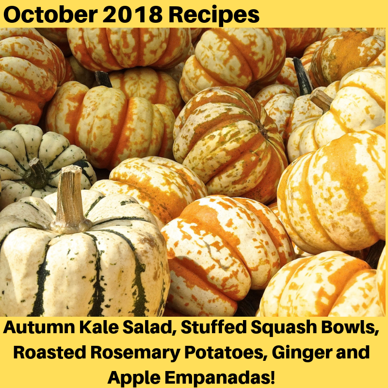 October 2018 Recipes