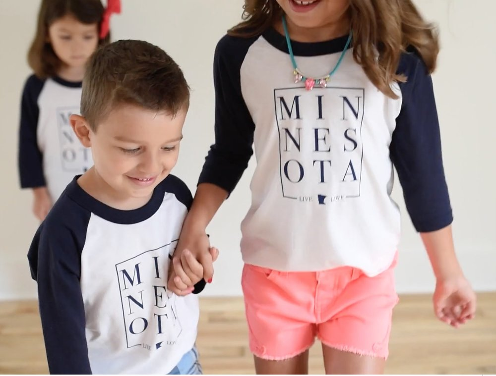 Minnesota Kids Clothing