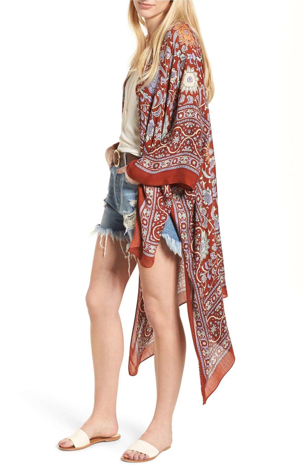 Spring Fashion: Kimono