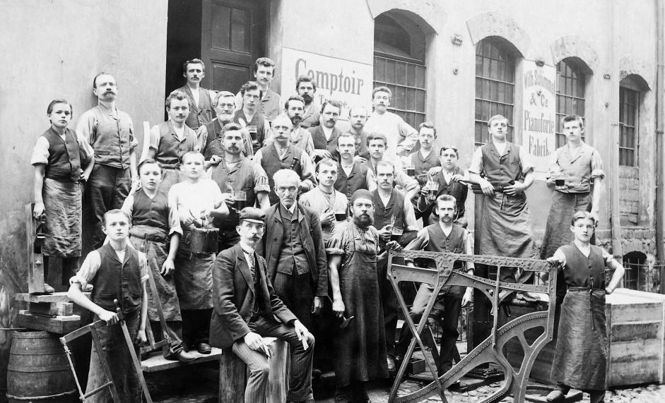 Schimmel Factory 1885