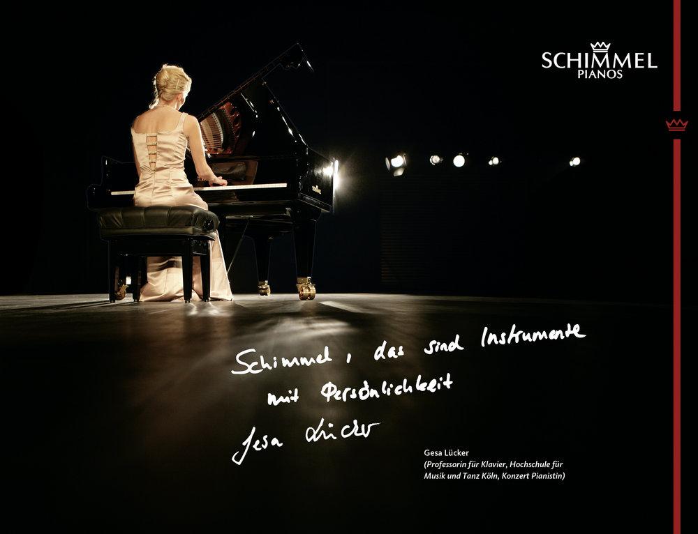 Gesa Lücker Schimmel Pianos