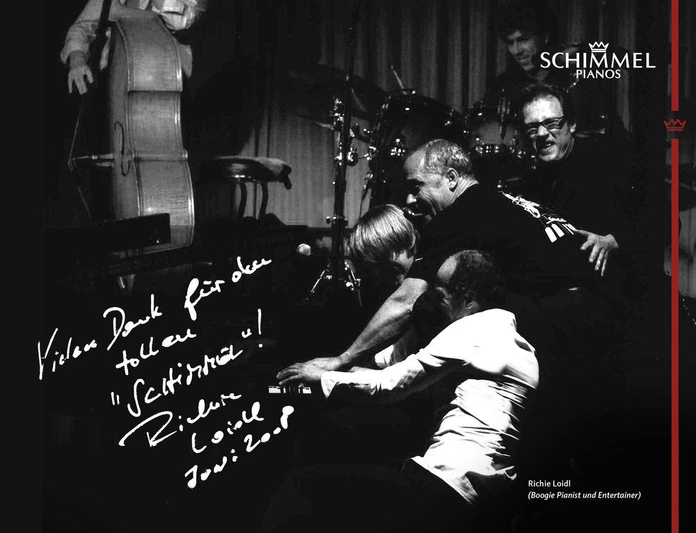Richie Loidl Schimmel Pianos