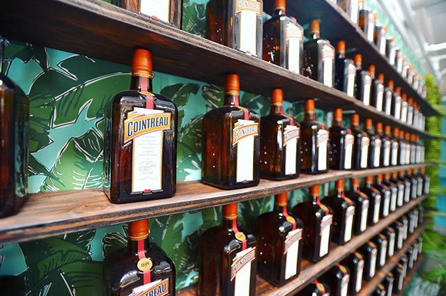 """ 99 bottles of @cointreau_us on the wall...."" Happy early Friday! 💃🏼 @slaackproductions"