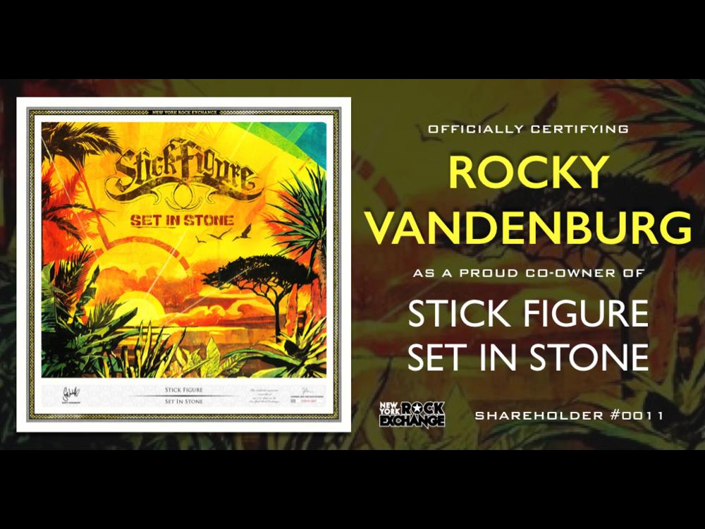 Rocky Vandenburg -  Owner #0011