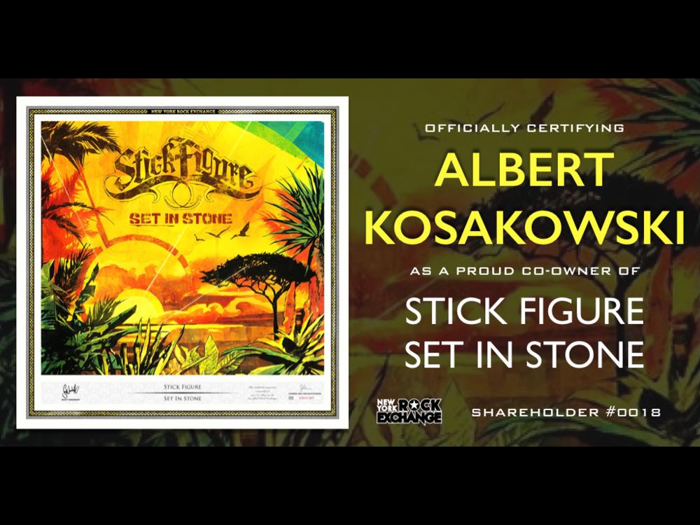 Albert Kosakowski -  Owner #0018