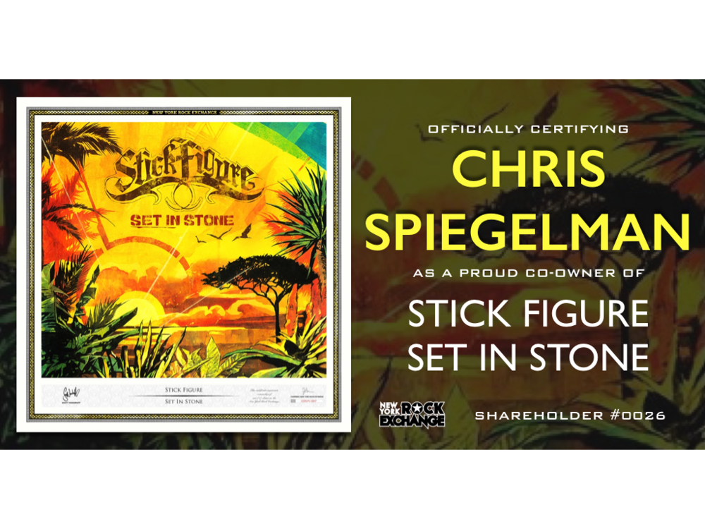 Chris Spiegelman -  Owner #0026