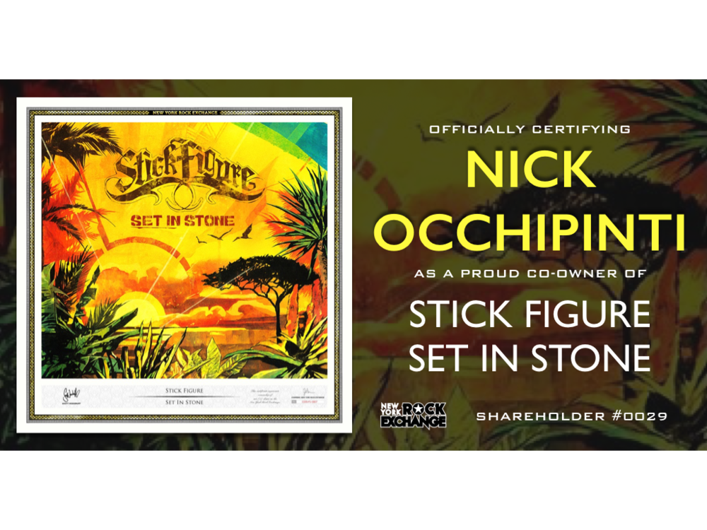 Nick Occhipinti -  Owner #0029