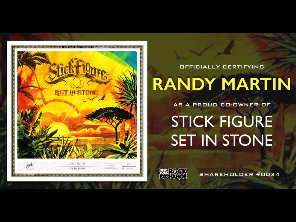 Randy Martin -  Owner #0034