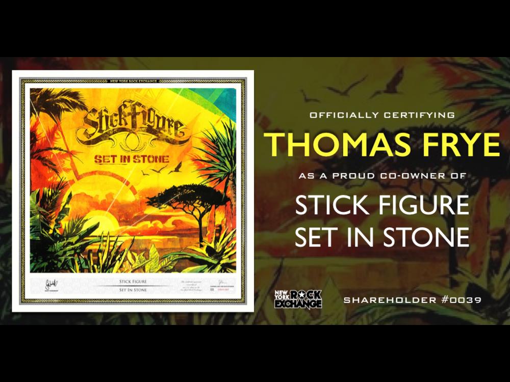 Thomas Frye -  Owner #0039