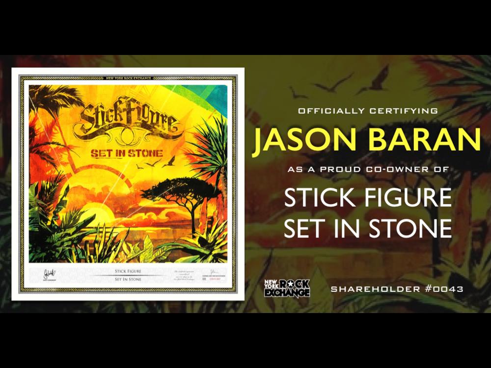 Jason Baran -  Owner #0043