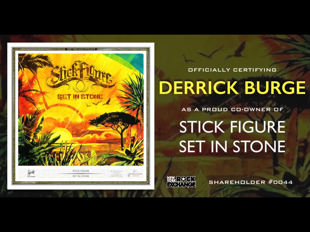 Derrick Burge -  Owner #0044