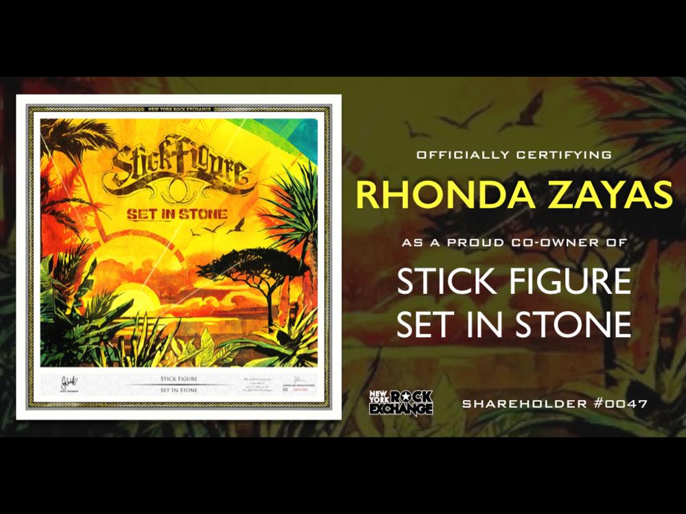 Rhonda Zayas -  Owner #0047