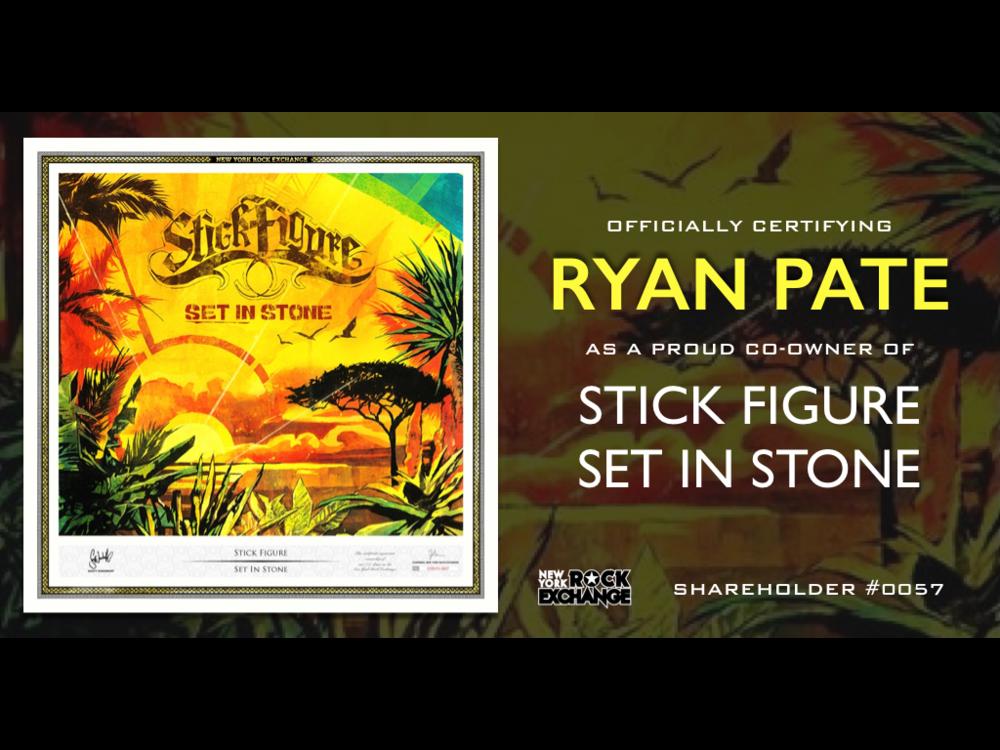 Ryan Pate -  Owner #0057
