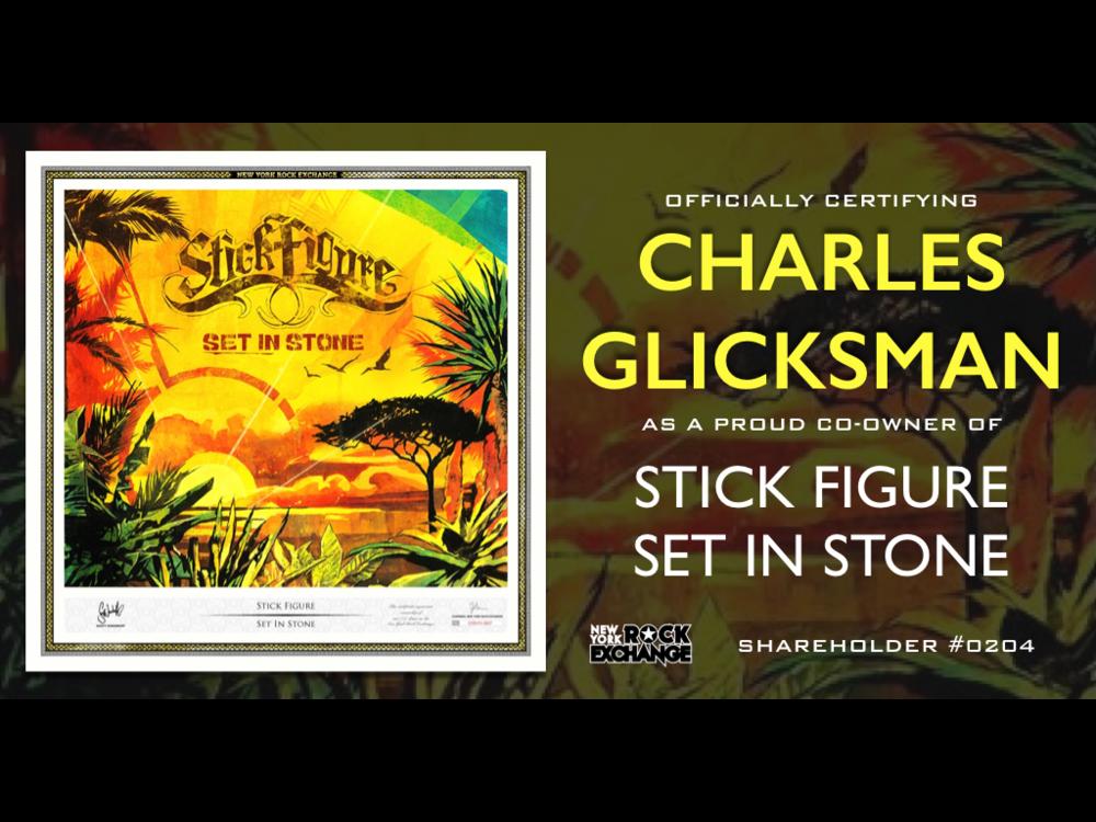 Charles Glicksman -  Owner #0204