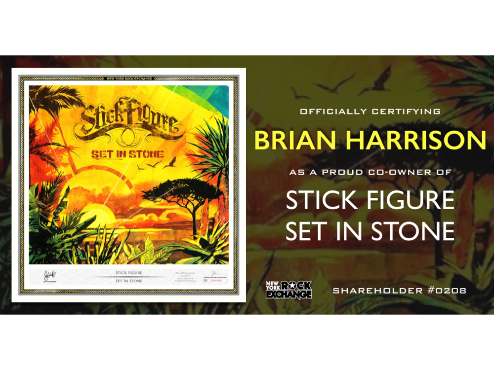 Brian Harrison -  Owner #0208