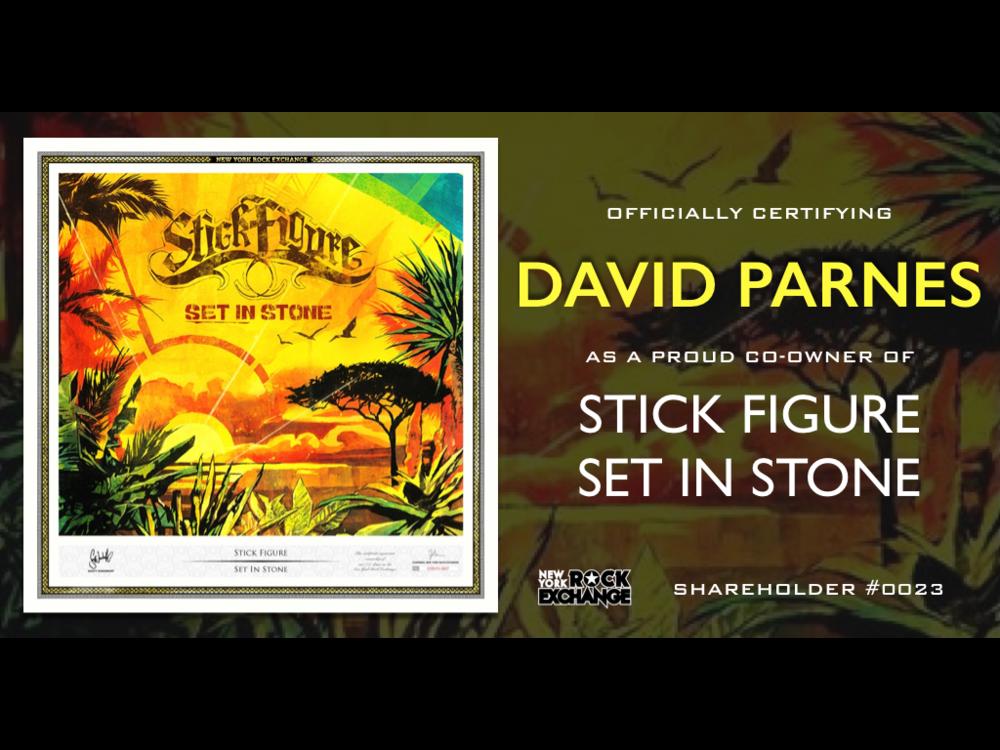 David Parnes -  Owner #0023
