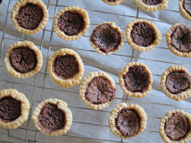 Mini Baked Chocolate PIes