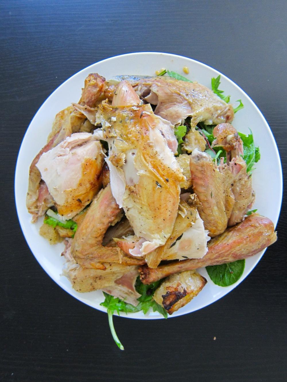 Zuni Cafe's Roast Chicken & Bread Salad