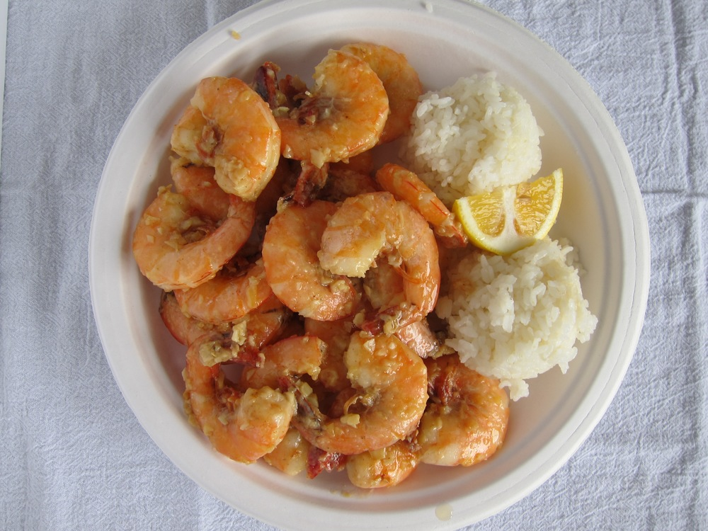 North Shore Garlic Butter Shrimp