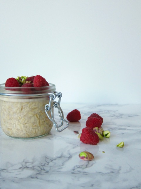 Overnight Oats with Meyer Lemon Cashew Cream