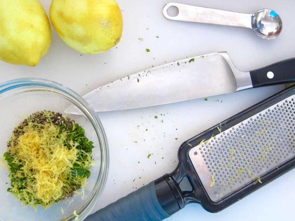 Lemon Zest and Oregano