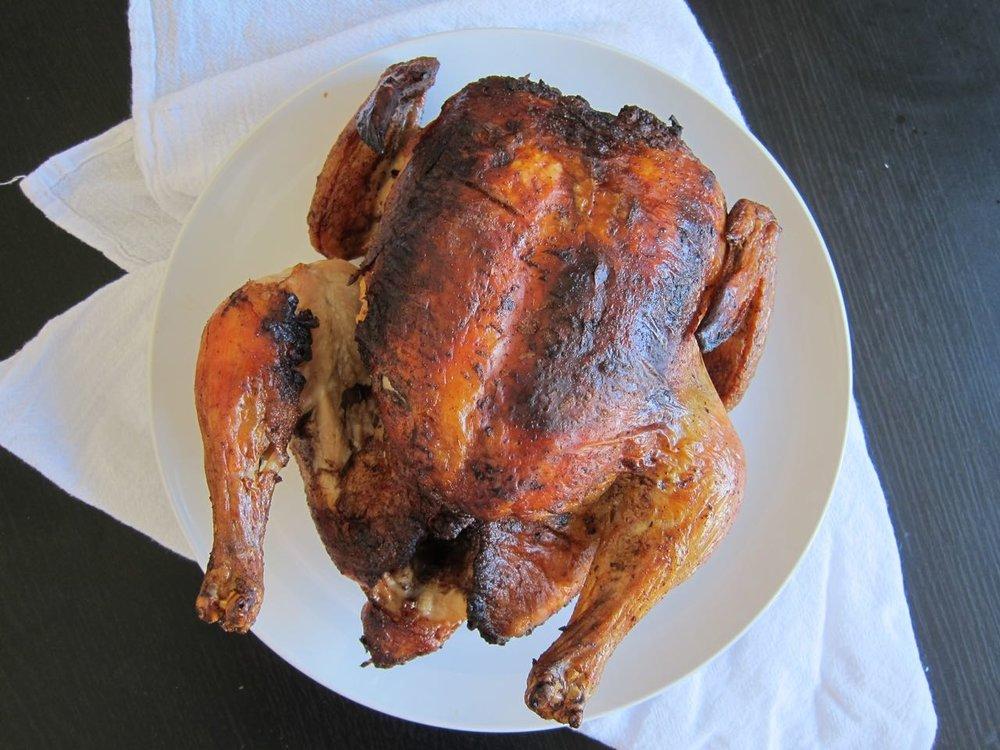 Moroccan(ish) Roast Chicken