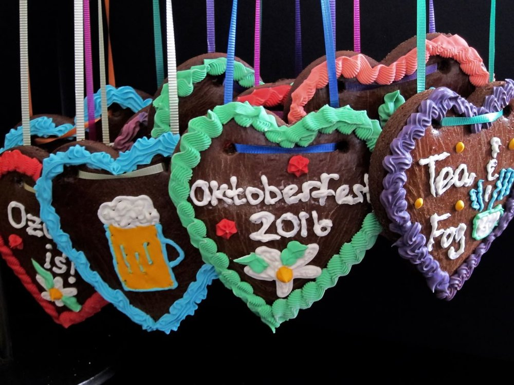 Oktoberfest Lebkuchen