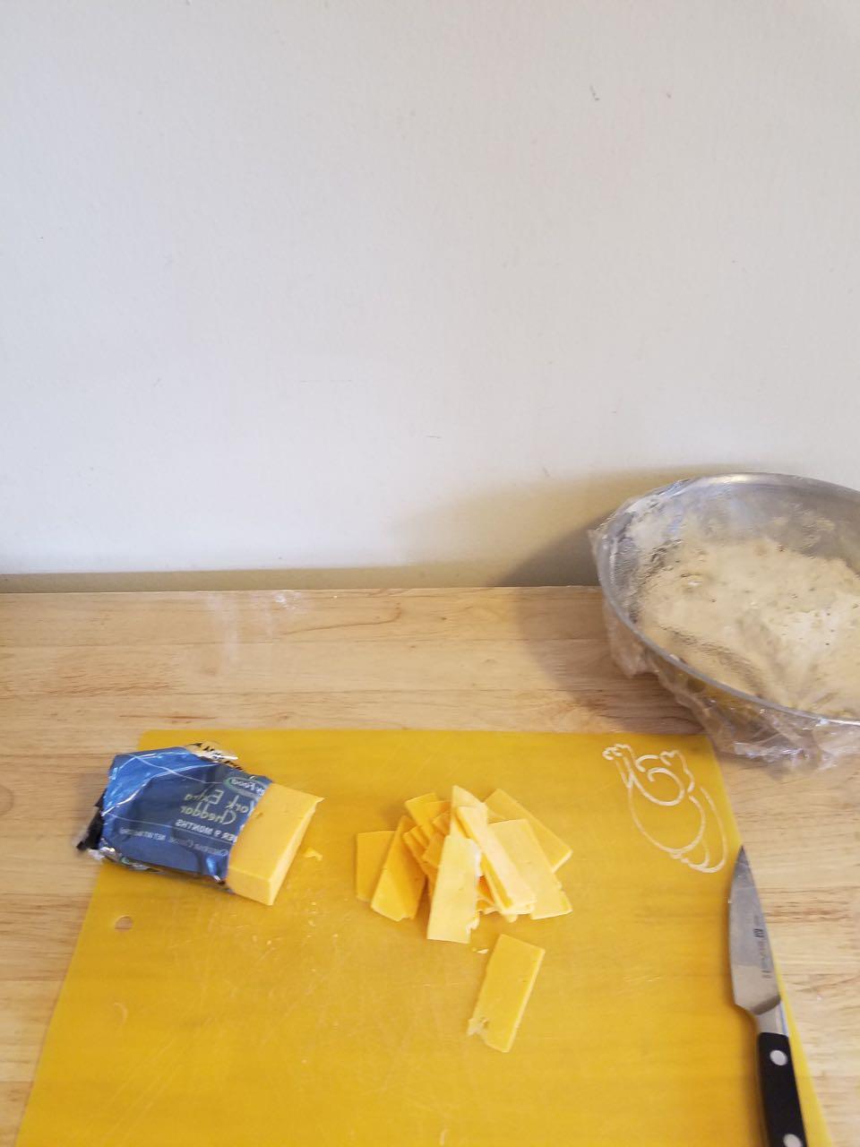 Focaccia Dough & cheese