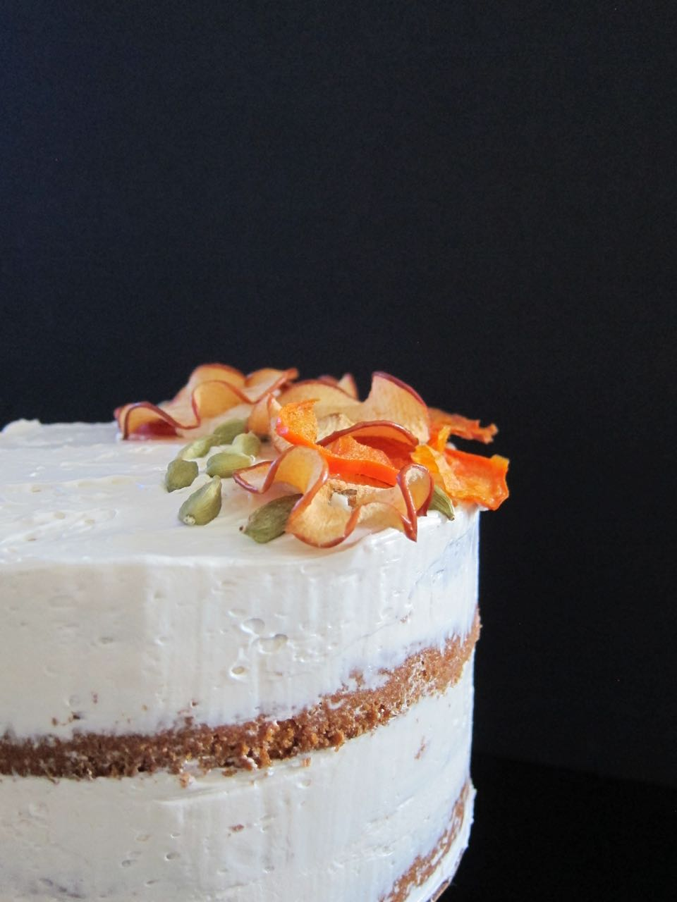Apple & Persimmon Cake
