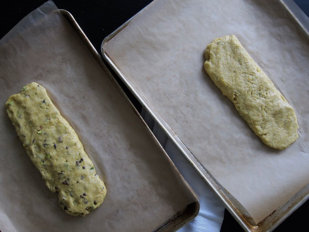 Citrus Biscotti Dough