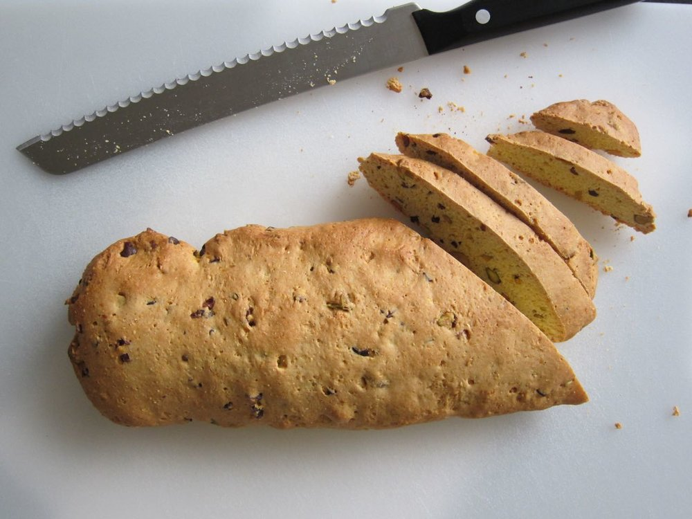 Slicing Biscotti