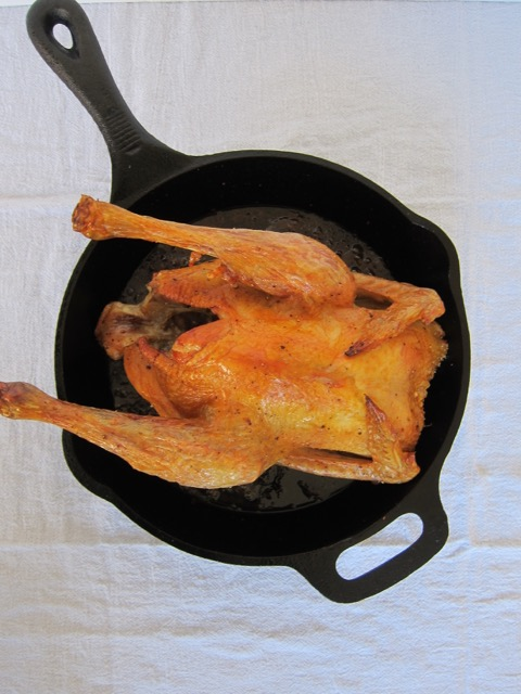 Easy Cast Iron Roast Chicken