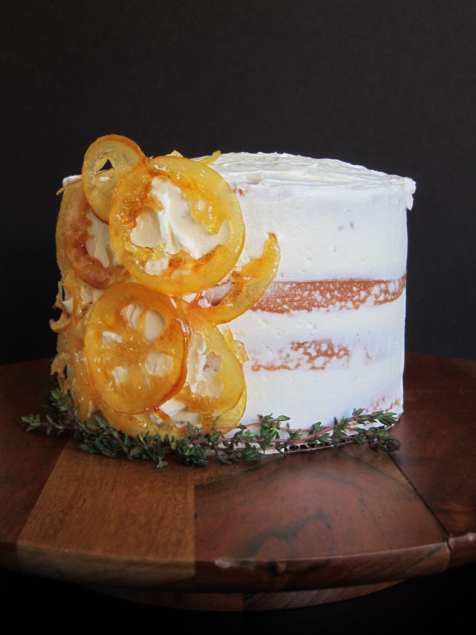 Lemons & Thyme Cake