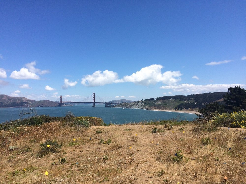 Golden Gate from Lands End