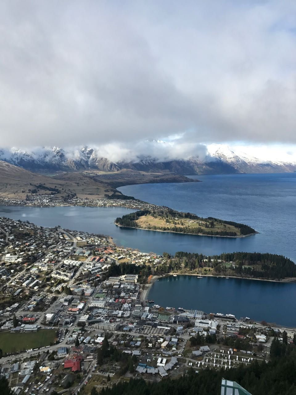 Queenstown from Gondola