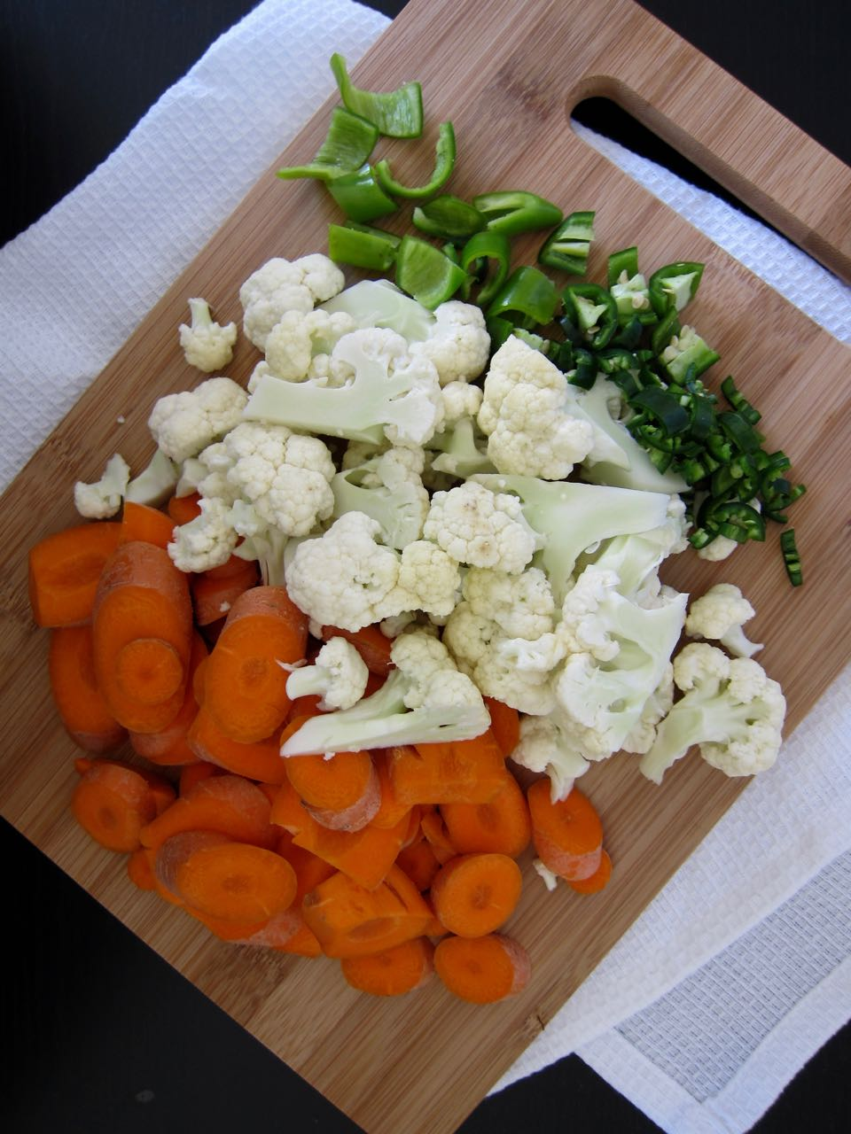 Escabeche Ingredients