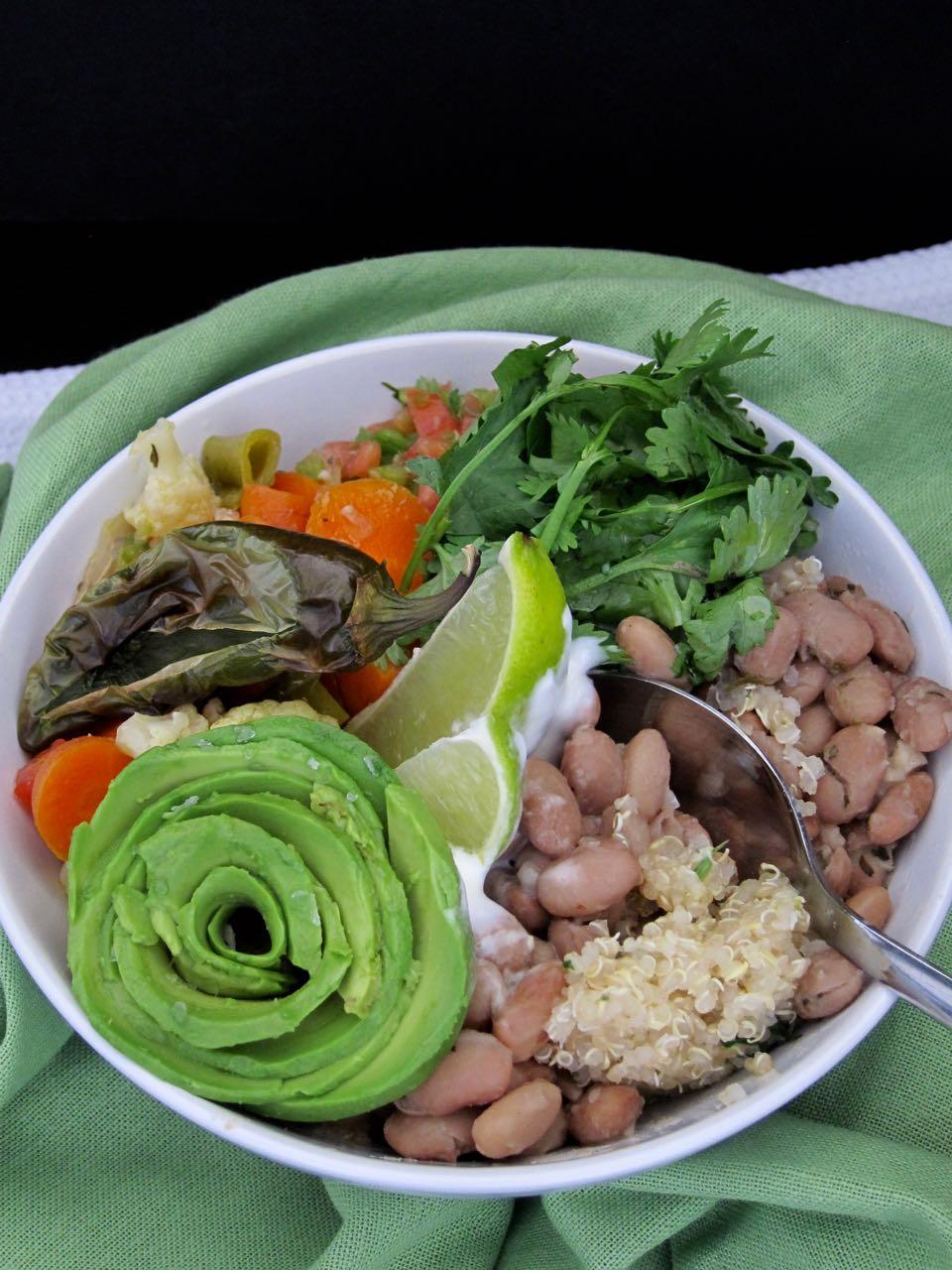 Pinto & Quinoa Bowl