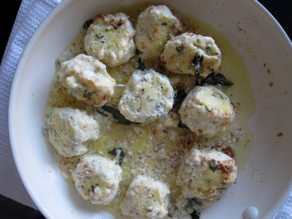 Sauteeing Ricotta Dumplings.jpg