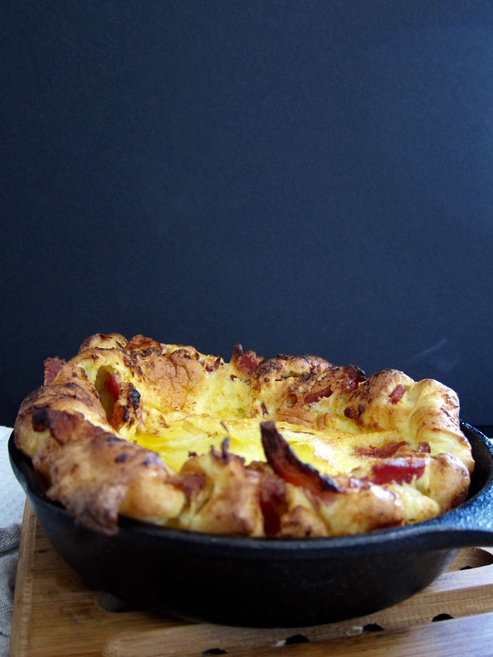 Baked Bacon Dutch Baby