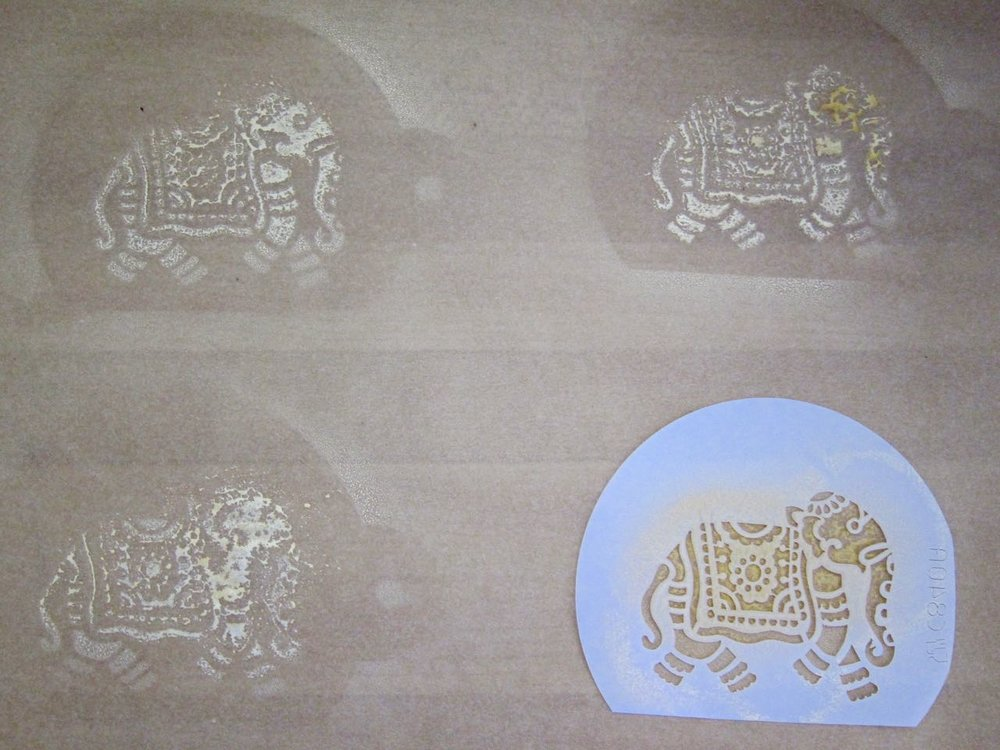 practicing elephant cake stencil.jpg