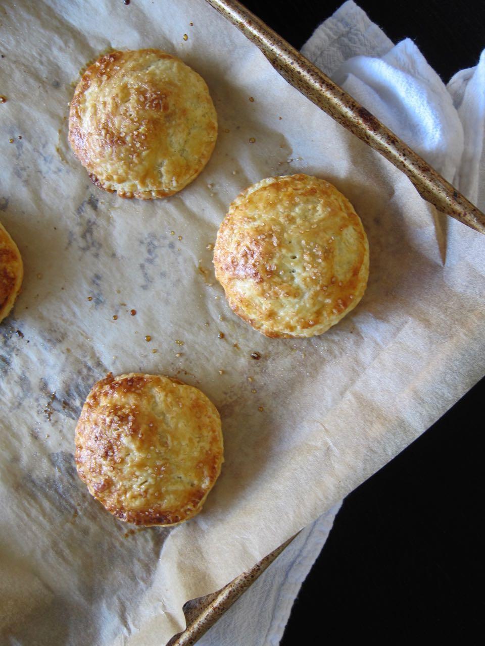 Baked pecan pie cookies